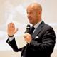 Relatore durante un convenio di EVOLUTION FORUM, Riccione