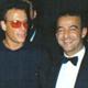 Con Jean Claude Van Damme, serata di gala UNESCO