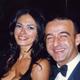 con Mariagrazia Cucinotta, serata di gala UNESCO